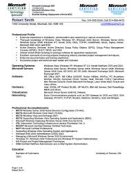 systems analyst sample resume  seangarrette cosystem administrator resume sample help