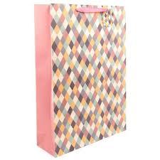 <b>Пакет подарочный</b> ламинированный Пастельная мозаика ...