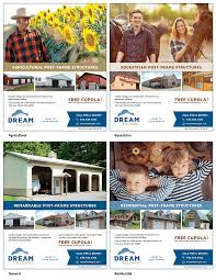 dream buildings increases s targeted advertising 4 ad templates target various customer types for dream buildings