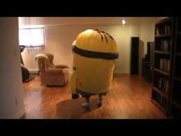 <b>Inflatable costume minion</b> - YouTube
