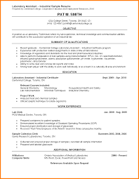 lab experience on resume ledger paper resume format mental health resume s assistant resume more lab