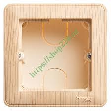 Купить <b>Подъемная коробка</b> для наружного монтажа с рамкой <b>1</b> ...