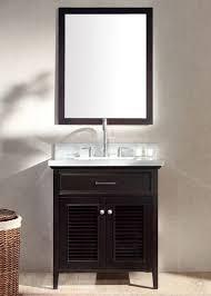 finish ace kensington single sink  ace  inch cottage single sink bath vanity set in espresso finish