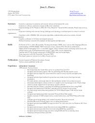 entry level software engineer resume getessay biz sample entry level developer by orq15382 entry level software engineer