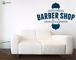 <b>YOYOYU Wall Decal</b> Gentlemen's Barbershop Vinyl Wall Stickers ...