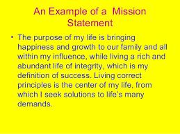 mission statement 20