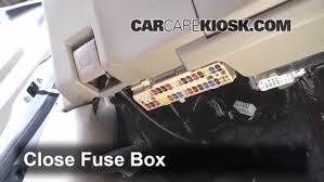 interior fuse box location toyota highlander  interior fuse box location 2008 2013 toyota highlander 2012 toyota highlander 3 5l v6