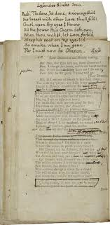 an alternative to the traditional literary essay folger education a prompt book for drury lane theatre s production of midsummer night s dream circa 1763