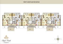 About Project   Royal Enrich at Magarpatta   Royal Properties    Royal Enrich   Row house Floor Plan