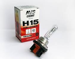Галогенная <b>лампа AVS Vegas</b> H15.12V.15/55W.1шт.