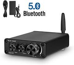 Nobsound G3 <b>2 Channel Bluetooth</b> 5.0 Amplifier , Class D <b>Stereo</b> ...