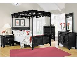 the plantation cove canopy bedroom collection black value city furniture black bedroom furniture collection