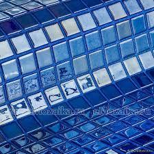 <b>Мозаика стеклянная</b> однотонная <b>Ezarri Metal</b> Azurita | Интернет ...