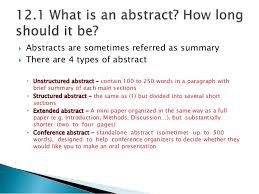 Chapter     Abstract   english for writing research papers  SlideShare