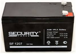 Купить <b>Аккумулятор Security Force</b> SF 1207 в интернет-магазине ...