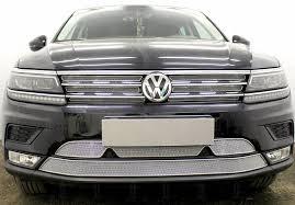 Защита <b>радиатора Premium</b>, <b>хром</b>, <b>верх</b> (6 частей) <b>WVTIG16</b> ...