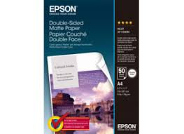 <b>Double</b>-<b>Sided Matte</b> Paper - <b>Epson</b>