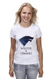 <b>Футболка классическая Winter</b> is coming #890134 – заказать ...