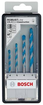 <b>Набор сверл BOSCH Robust</b> Line Multi Construction 2.607.010.521 ...