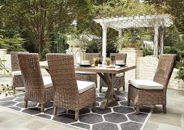 Beachcroft <b>Dining</b> Table w/6 Side <b>Chairs</b> Ashley <b>Furniture</b> Homestore