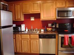 wall color ideas oak:  kitchen wall color ideas with oak cabinets think carefully done wonderfully painting oak kitchen cabinets
