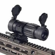 <b>Tactical 3x Magnifier Scope</b> with Flip UP Side Mount QD Scope ...