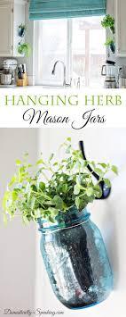 1000 ideas about hanging mason jars on pinterest jar lights mason jar holder and mason jar sconce adore diy hanging mason