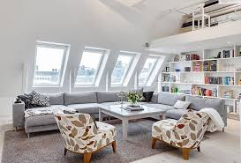 attic living room design youtube:  beautiful attic living room design ideas rilane