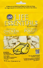 <b>Life Essentials</b> Chicken <b>Freeze</b>-<b>Dried</b> Cat & Dog Treats, 2-oz | Pet Pros