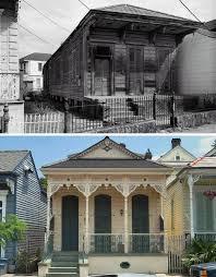 Shotgun Style  Historic Small Plan Homes Have No Hallways