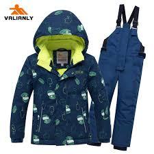 <b>2019 Winter</b> Kids <b>Ski</b> Suit Children Boys <b>Snow</b> suit Waterproof Kids ...