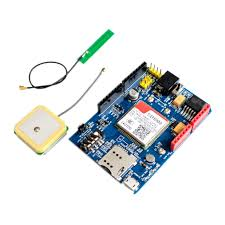 <b>High Quality SIM808</b> GPRS/GSM+GPS Shield 2 in 1 Shield GSM ...