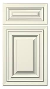 Kitchen Cupboard Door Styles Florence Door Style Painted Antique White Kitchen Cabinets