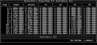 разработка <b>модуля</b> оценивания параметров для систем с ...