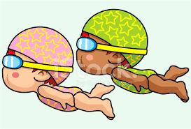 Resultado de imagen de natación dibujo