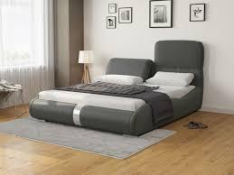 Купить <b>Кровать</b> Лукка (Экокожа Темно-серый) 160x200 в ...
