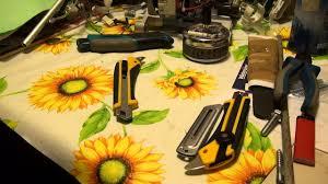<b>Строительные ножи</b> GROSS 78879, <b>OLFA OL</b>-L-5 и AUTOLOCK ...