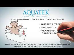 <b>Акриловые ванны Акватек</b> (Akvatek) - купить по низкой цене в ...