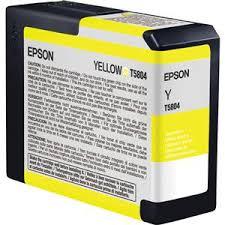 <b>Epson</b> T580400 <b>80ml</b> Stylus Pro 3800 Cartridge, <b>Yellow</b> T580400