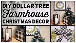 Dollar Tree DIY Farmhouse Christmas Decor Ideas 2019 - Black ...
