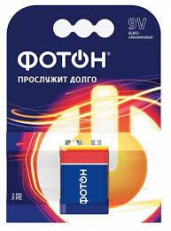 Батарейка <b>ФОТОН Крона</b> 9V 6LR61, в Оптоклубе РЯДЫ