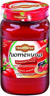 Овощные консервы Олинеза <b>Лютеница</b> традиционная, 6 шт по ...