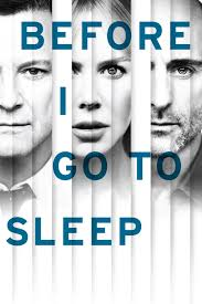 Image result for before i go to sleep poster