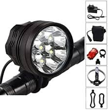 Weihao Bike Light, 6000 Lumen 5 LED Bicycle ... - Amazon.com