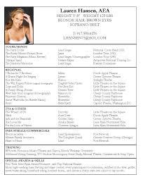 acting resume samples resume format  17