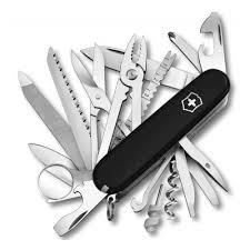 <b>Нож перочинный VICTORINOX</b> Swiss Champ, 91 мм, 33 функции ...