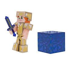 Игрушка <b>Minecraft фигурка</b> Alex in Gold Armor купить в Краснодаре