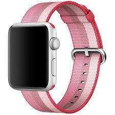Купить <b>Ремешок</b> Woven <b>Nylon</b> для <b>Apple</b> Watch 42mm Berry в ...