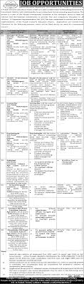 jobs in education department sep  jobs in special education department govt of punjab 05 aug 2016