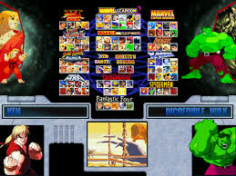 Super Marvel vs. Capcom: Eternity of Heroes Mugen Game Download